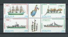 ITALIE - 1980 YT 1460 à 1463 bateaux bloc - TIMBRES NEUFS** MNH LUXE