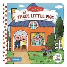 The Three Little Pigs (First Stories) by  | Board book Book | 9781509821037 | NE