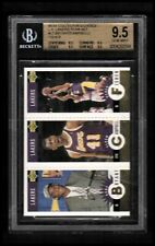 1996-97 Collector's Choice L.A. Lakers #L1 Kobe Bryant Campbell Fisher BGS 9.5