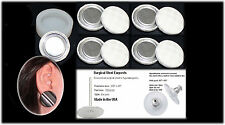 50 Fabric Self Cover Button Earrings 27mm DIY KIT Studs New Style Refill Kit