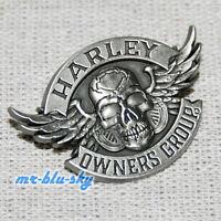 Winged Skull Pin ~ Harley Davidson Owners Group HOG  H.O.G.