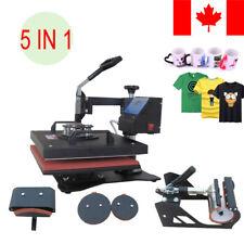 360 Degree T-Shirt Heat Press Sublimation Transfer Machine 38 X 29CM Swing Away