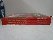 Les Maîtres de l'Orge Van Hamme Vallès 1 à 8 en 4 doubles albums France Loisirs.