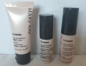 Mary Kay TIMEWISE Night Restore & Recover Complex Set - Travel Size - NO BOX