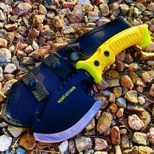 """10.5"""" Hunt-Down Axe with Yellow Rubber Handle"""