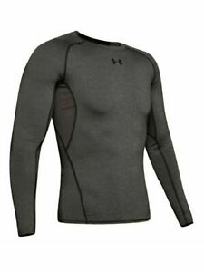 UNDER ARMOUR Mens Gray Slim Fit T-Shirt M