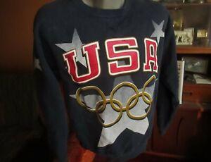 Vtg Champion Olympics Sweatshirt Mens LARGE Atlanta 1996 Crewneck USA