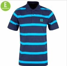 Collared Henley Striped Casual Shirts & Tops for Men