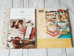 Stampin Up! Idea Book & Catalog 2006-07 and 2009-10  Lots of Ideas