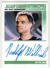 STAR TREK TNG PORTFOLIO PRINTS Series 1--Autograph #45: RUDOLPH WILLRICH *LTD*^