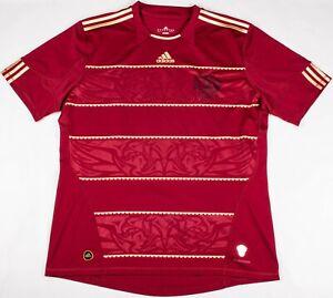 Vintage ADIDAS 2009 Russian Federation POCCNR Soccer Futbol Team Jersey Size XL