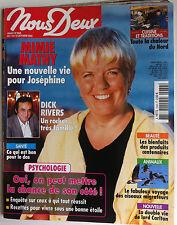 Photoromans NOUS DEUX 7/10/2003; Interview Mimie Mathy/ Dick Rivers