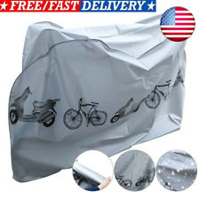 Heavy Duty Waterproof Bicycle Cover Bike Sun/Rain/Snow/Dust Proof UV Protector