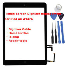 For Black iPad Air A1474 Touch Screen Panel Glass Digitizer Replacement Lens OZ