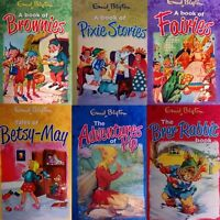 Enid Blyton Friendly Folk 6 Books Collection Set,Tales of Betsy-May,Bran