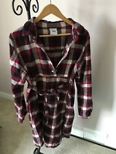 Mamalicious checked shirt dress in Large/UK 12-14 also could be used for nursing