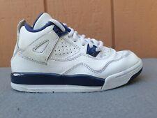 Jordan 4 Retro 'Columbia' LS BP Kids Shoes Size 12C White-Blue-Navy 707430-107