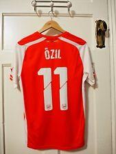 """Arsenal Puma Home Shirt Small 2014-2015 - """"OZIL 11"""" - BNWT"""