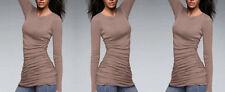 Markenlose L Damenblusen, - tops & -shirts aus Baumwolle