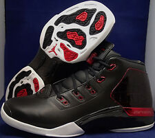 Nike Air Jordan 17 + XVII Retro Black Gym Red Bulls Bred SZ 9.5 ( 832816-001 )