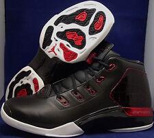 Nike Air Jordan 17 + XVII Retro Black Gym Red Bulls Bred SZ 11 ( 832816-001 )