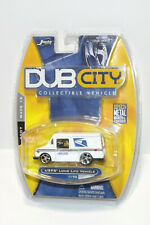 JADA TOYS BUD CITY USPS LONG LIFE VEHICLE WITH CHROME WHEELS FREE SHIPPING