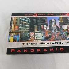 Times Square New York Buffalo Games Panoramic Jigsaw Puzzle Complete 750 Piece