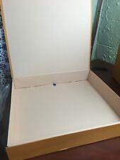 Louis Vuitton Magnetic Empty Box with Ribbon Large Orange 19x17.5x3.5