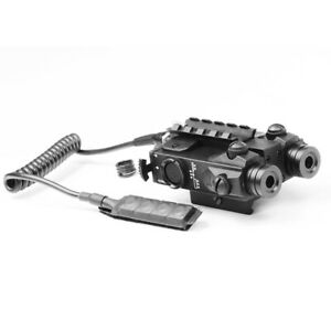 Dual Laser Beam Tactical Laser Sight Combo with Picatinny Rail Mount for Rifles