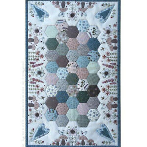 Lynette Anderson Forest Floor Embroidery / Patchwork Kit. Fabrics & pattern
