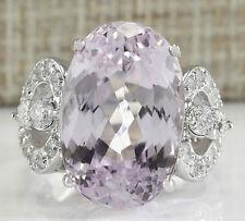 Gorgeous Pink Sapphire 925 Silver Women Fashion Wedding Bridal Ring SZ:7