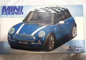 1/24FUJIMI - Mini Cooper Flag Roof - Sealed Plastic Model Kit