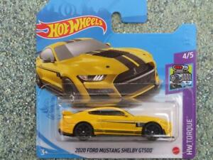 Hot Wheels 2021 #143/250 2020 FORD MUSTANG SHELBY GT500 yellow @G
