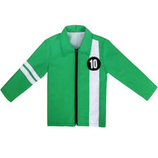 Cosplay Ben 10 Alien Force Ultimate Omnitrix Green Jacket Coat Benjamin Costume