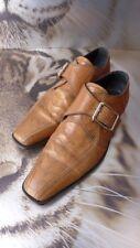LUXUS | DOLCE & GABBANA D&G 100% Leder Schuhe Braun UK 6 EU 38-39 NP €1650
