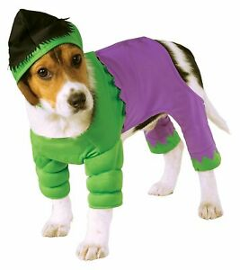 Rubies Marvel Incredible Hulk Comics Avengers Pet Dog Halloween Costume 580069