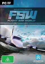 Flight Sim World  - PC game - BRAND NEW