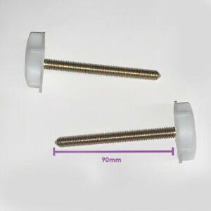 Headboard Bolts Screws For Divan Bed Base Extra Long M8 - 90mm