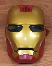 2012 Hasbro (C-176B) Funciona con Pilas Iron Man Luz Led Disfraz Máscara Leer