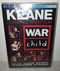 DVD KEANE - WAR CHILD - NUOVO NEW