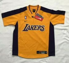 (NOTES) JUNIOR/BOYS Los Angeles Lakers 1/4 Zip Polyester Shirt by Nike