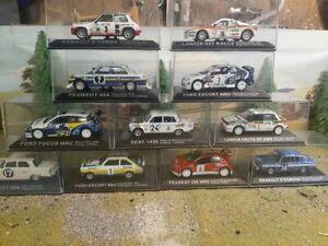 DeAgostini Rally Car Collection Multi-Listing 60-69