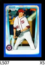 1-2011 BOWMAN CHROME BLUE REFRACTOR MIKE WRIGHT ORIOLES /250 QTY