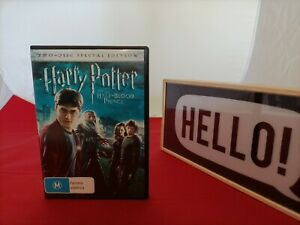 Harry Potter And The Half-Blood Prince [Region 4] - DVD - Free Postage !!
