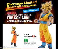 Dragonball Z Banpresto Super Saiyan Goku Master Stars Piece Manga Dimension
