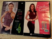 Beachbody Debbie Siebers Slim In 6 Plus Cardio Core! Express 3-DVDs Fitness NEW