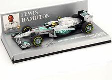 L. Hamilton Mercedes AMG Petronas F1 W04 China GP Formel 1 2013 1:43 Minichamps