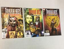 Jonah Hex Shadows West 1-3 Complete Set 1 2 3 DC Vertigo comics 1999