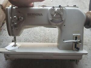 Bernina 217, 1-Needle, ZigZag, Industrial Sewing Machine, 110V, w/ cloth puller.