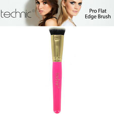 Technic Pro Flat Edge Makeup Cara Highlighter Cheek Bones Jawline Blending Brush